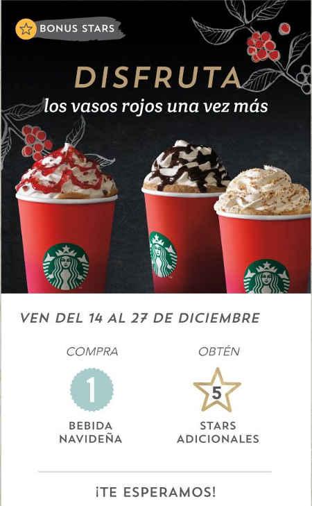 Starbucks bebidas navideñas
