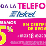 Suburbia Certificado de Regalo en Telefonía Telcel