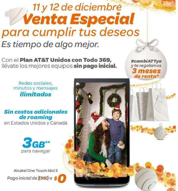 Venta Especial AT&T 11 y 12 de Diciembre