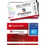 Boletos Gratis Cinemex PAYBACK Santander