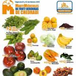 Frutas y verduras Chedraui febrero 2016