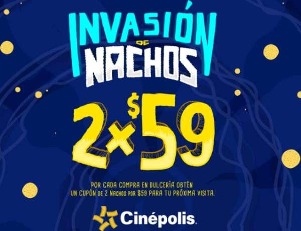 Cinépolis invasión de nachos