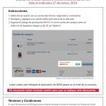 Costco cupón descuento tarjetas Banamex y Costo