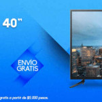 "Famsa Pantalla Samsung LED 40"" Smart TV UHD"