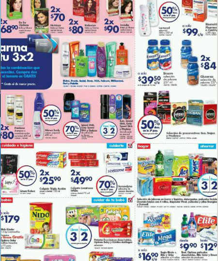 Farmacias Guadalajara ofertas de fin de semana enero
