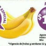 Frutas y verduras Soriana Enero 12