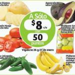 Soriana frutas y verduras 26 y 27 de enero
