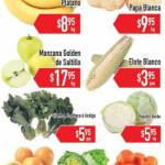 Frutas y Verduras HEB Enero 12