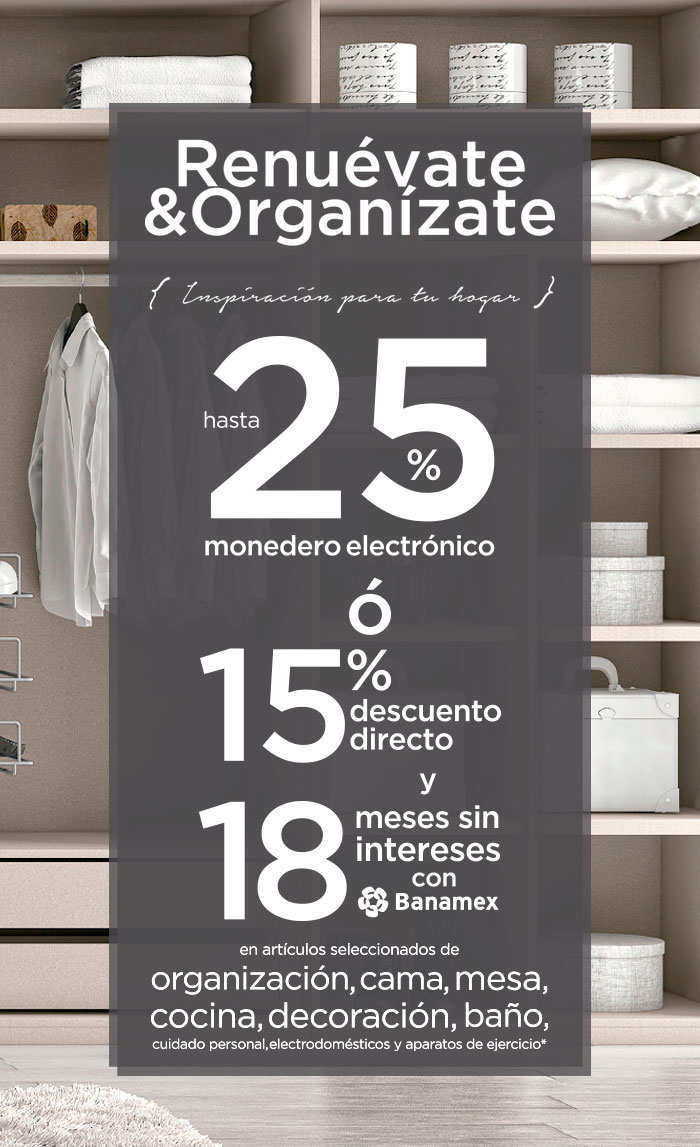 The Home Store monedero descuentos meses sin intereses