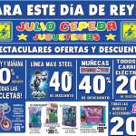 Julio Cepeda Jugueterías Ofertas de Juguetes Día de Reyes