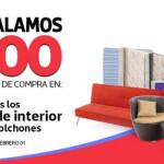 Comercial Mexicana descuentos en muebles, colchones y mas