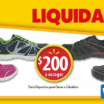 Liquidación Walmart tenis deportivos para dama o caballero