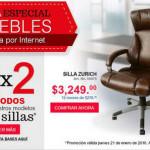 Office Depot 3×2 en sillas