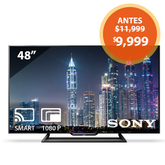 Walmart pantalla Sony 48″ Full HD Smart Tv a $9,999
