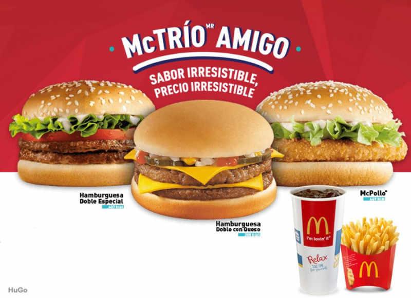 Promoción McDonald's McTrío Amigo
