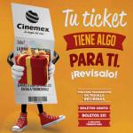 Promoción Ticketazo Cinemex Gana Boletos Gratis
