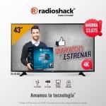 "RadioShack Pantalla Smart-Tv LG, 43"" LED UHD a $9,499"