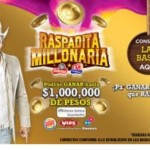 Promoción Raspadita Millonaria Sabritas Gamesa gana 1 millón de pesos