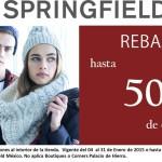 Springfield rebajas de invierno 50% de descuento