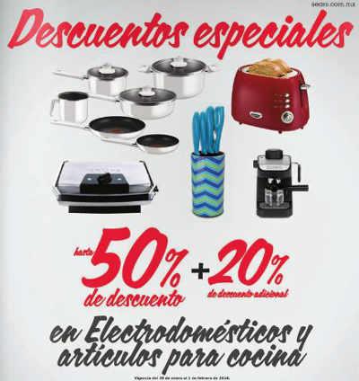 Sears descuentos en electrodomésticos y artículos para cocinar