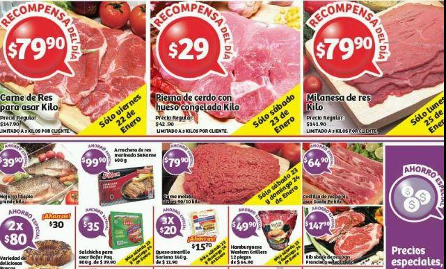 Soriana promociones tarjeta lealtad recompensa enero