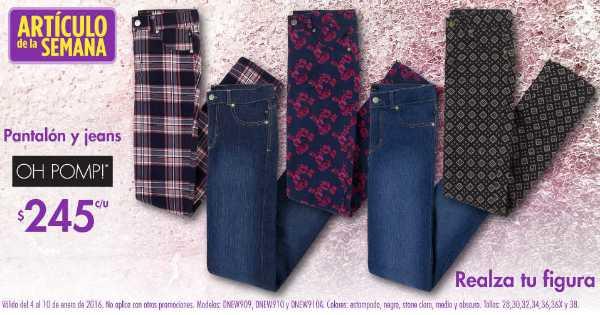 Suburbia artículo de la semana pantalones y Jeans a $245 pesos