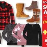 Suburbia descuentos en suéteres, abrigos y botas