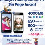 Telcel Promociones Celulares Sin Pago Inicial Plan Telcel Max 4000