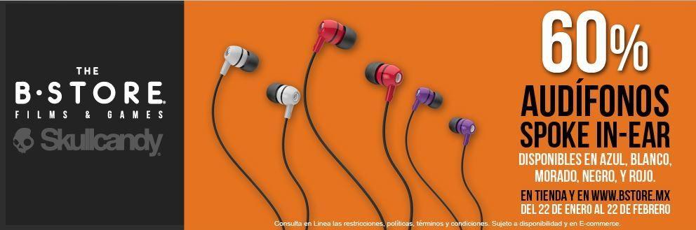 The B Store: Audifonos In Ear 2xl Spoke Skullcandy a $47.32