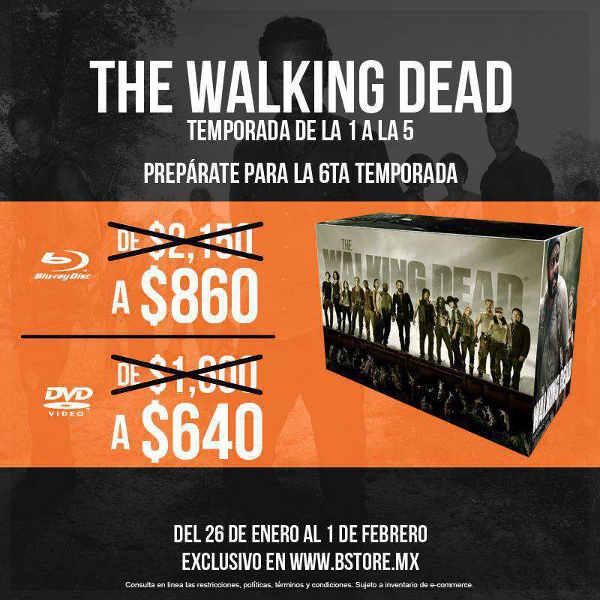The B-Store: The Walking Dead 5 Temporadas a $640