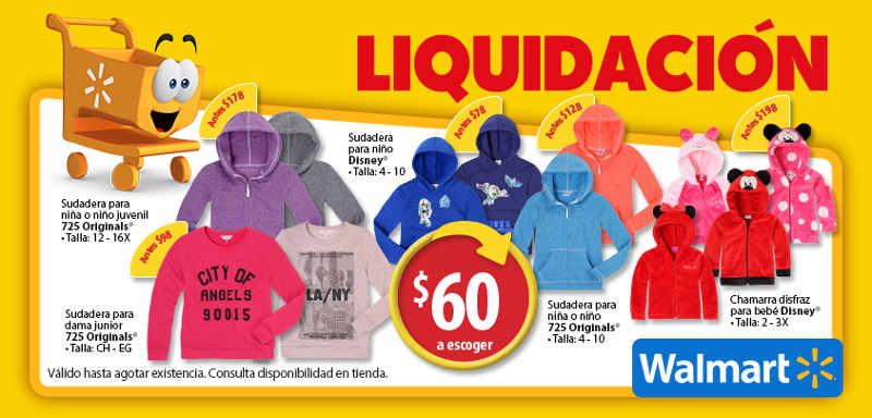 5f74ea4d4 Walmart: liquidación en variedad de chamarras y sudaderas para toda la  familia