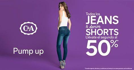 C&A oferta en jeans y shorts de mezclilla