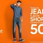 C&A 50% de descuento en jeans & denim shorts