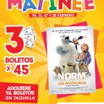 Cinemex Funciones matiné