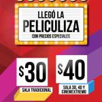 Promoción Peliculiza Cinemex