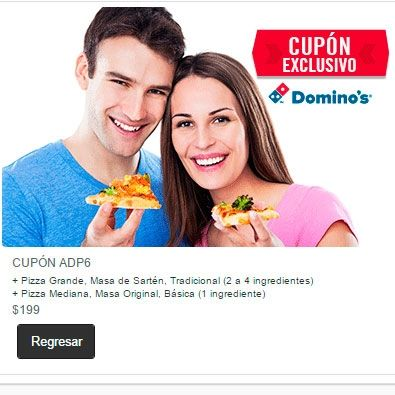 cupón domino's pizza