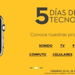El Palacio de Hierro 5 días de tecnología