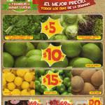 Frutas y verduras Bodega Aurrera