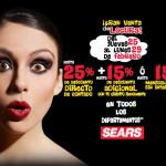 Gran Venta de Locura en Sears
