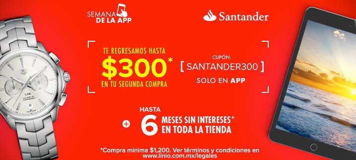 Cupones Linio con PayPal y Santander