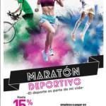 Liverpool hasta 15% en monedero electrónico maratón deportivo