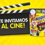 Promoción Nesquik Cinemex