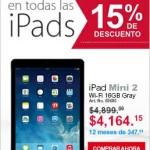 Office Depot iPad Mini 2 Retina bocina gratis