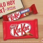 Oxxo 2x1 en chocolates Kit Kat