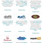 PayPal promociones en clickOnero, Groupon, Martí