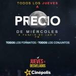 Promociones Cinepolis lunes y jueves