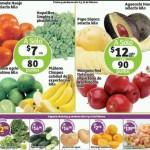 Frutas y verduras Soriana