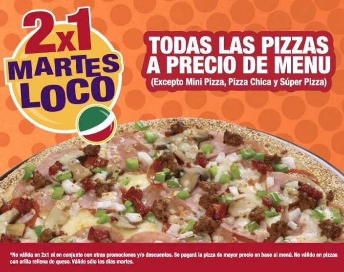 Benedetti's Pizza todos los martes 2x1