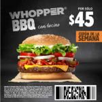 Burger King Cupones