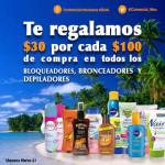 Comercial Mexicana bloqueadores, bronceadores y depiladores